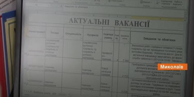 Вбудована мініатюра для Ринок праці Миколаївщини під час карантину. Сюжет Факти ICTV